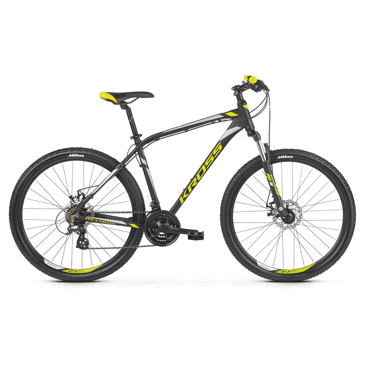 Rower Kross Hexagon 3.0 2019  - rowery MTB Rekreacja - Rowerowy Sam